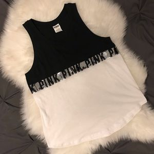Victoria's Secret Pink Loose Tank Top